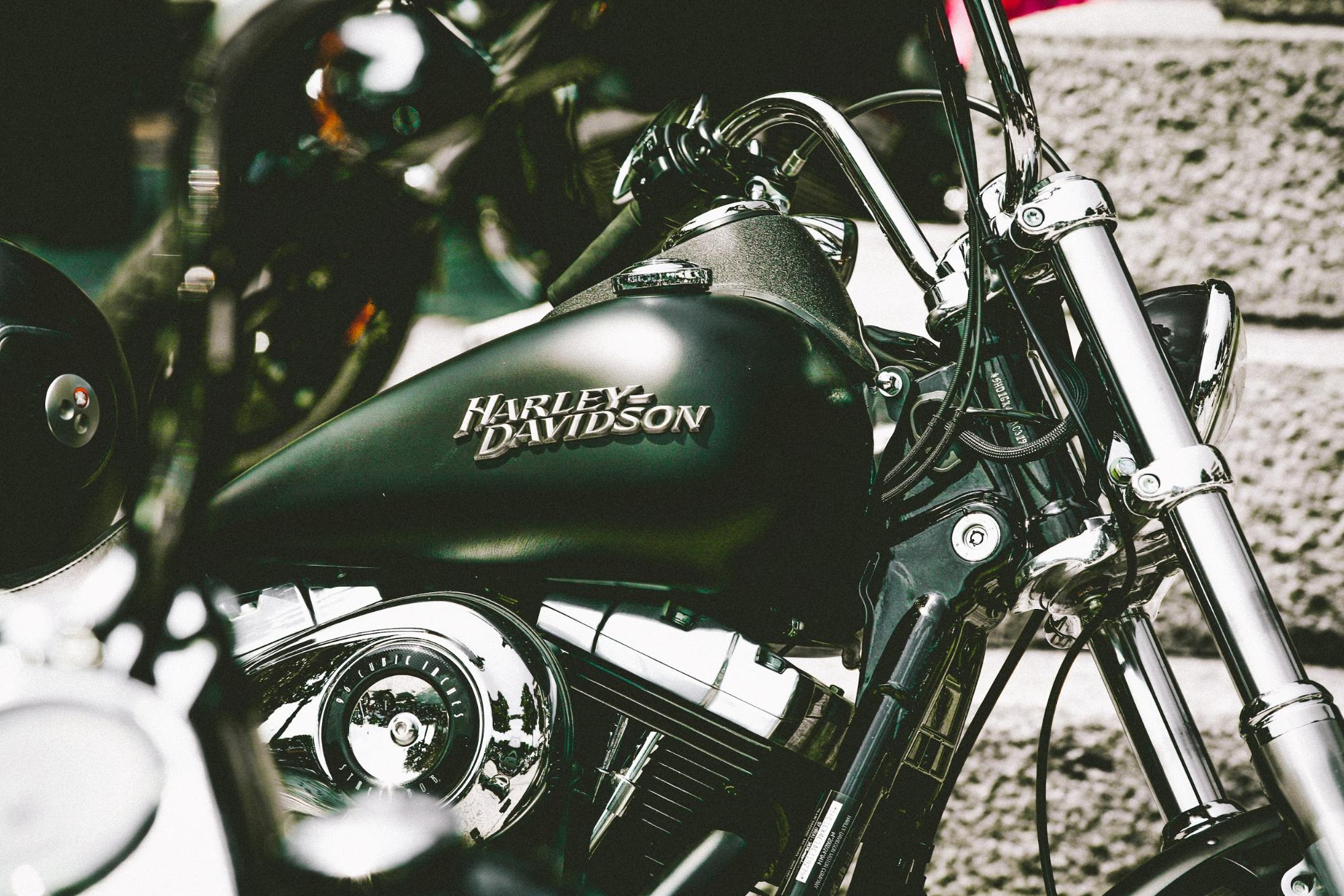 Harley Davidson is an icon of the industry.